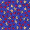 Patriotic dog bandana, hearts and stars