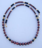 red tiger eye necklace